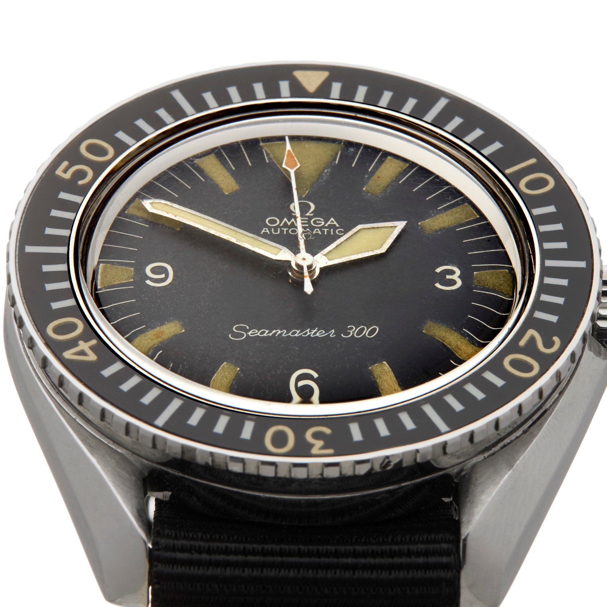 Omega Seamaster 300 Military Stainless Steel - ST 165.024 Stainless Steel ST 165.024