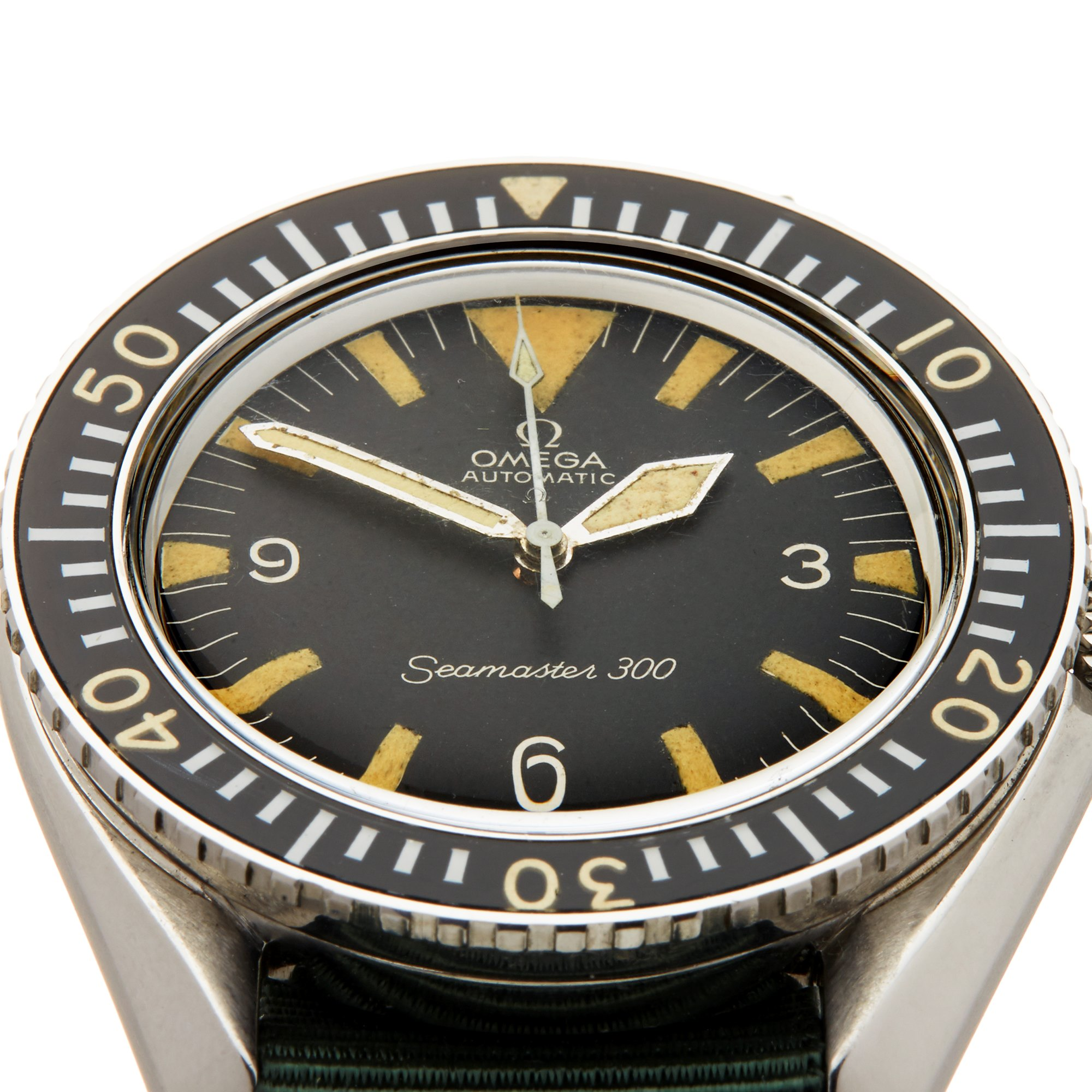 Omega Seamaster 300 Military Stainless Steel ST 165.024