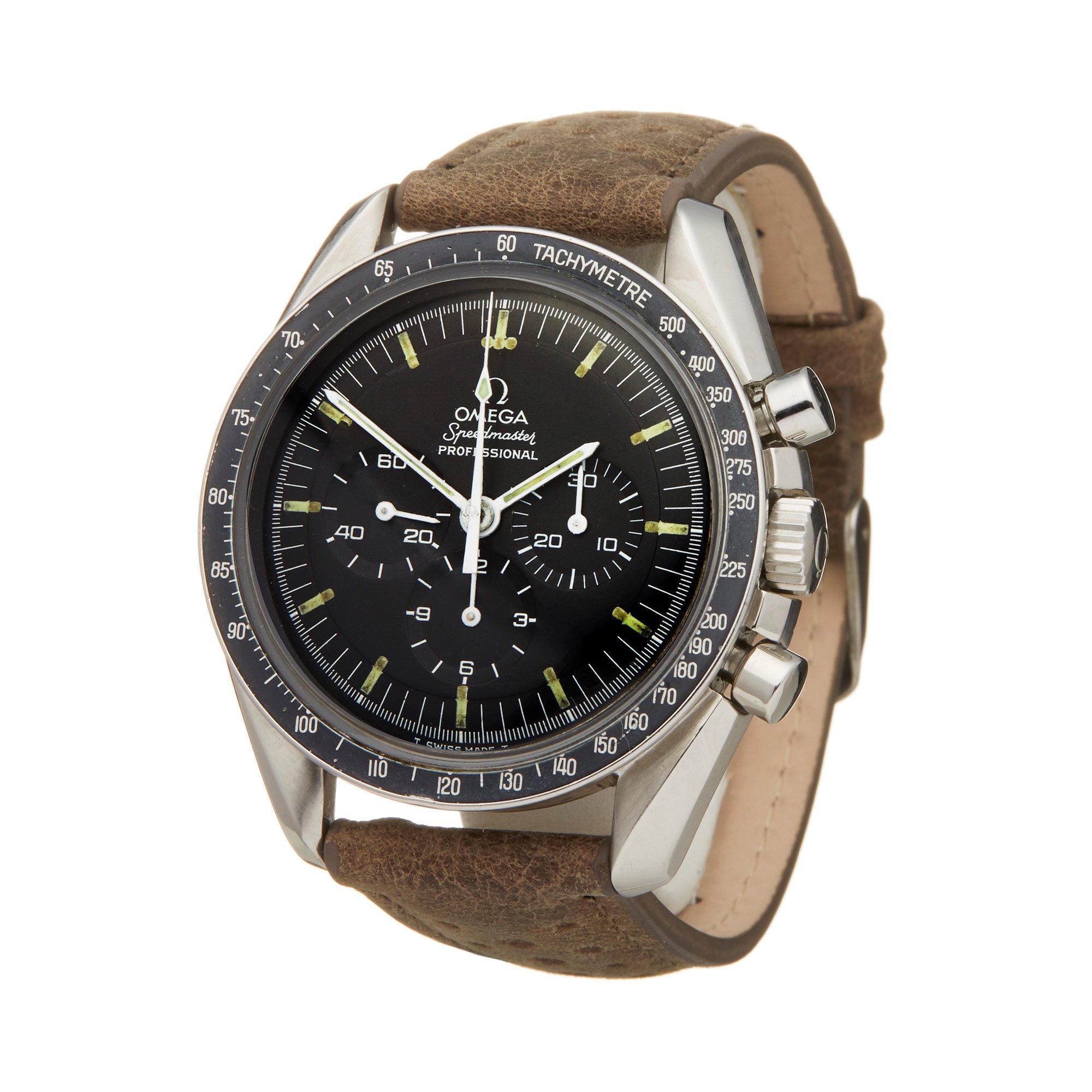 Omega Speedmaster Straight Writing Chronograph Stainless Steel 145.022-69 ST