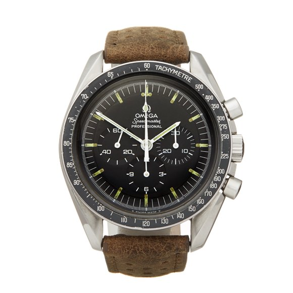 Omega Speedmaster Straight Writing Chronograph Stainless Steel - 145.022-69 ST