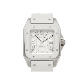 Cartier Santos 100 Stainless Steel - W20129U2 or 2878