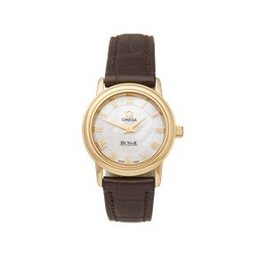 Omega De Ville Prestige Mother Of Pearl 18k Yellow Gold - 4670.71.02