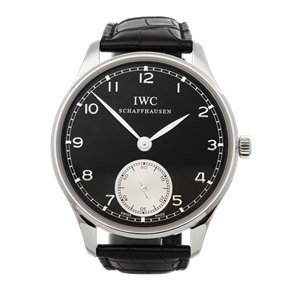 IWC Portuguese Hand-Wound Stainless Steel - IW545404