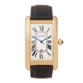 Cartier Tank Americaine 18k Yellow Gold - 1740