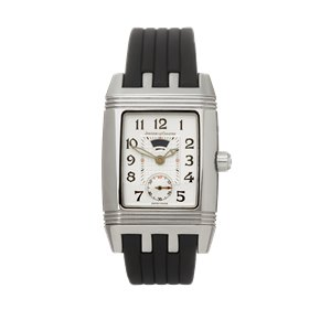 Jaeger-LeCoultre Reverso Duetto Diamond Stainless Steel - 296.8.74