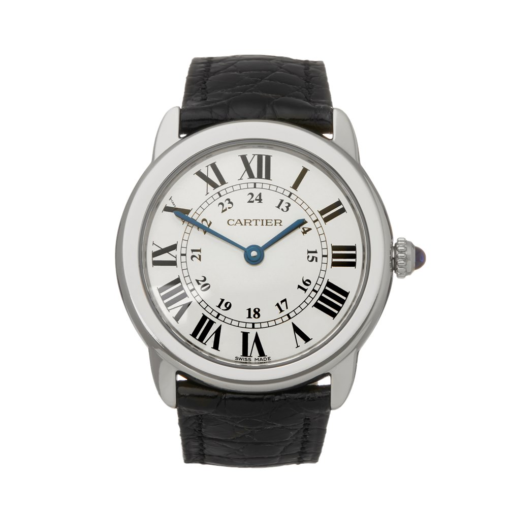 Cartier Ronde Solo Stainless Steel WSRN0019 or 3601