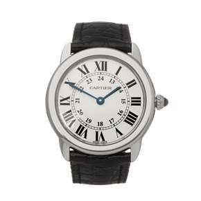 Cartier Ronde Solo Stainless Steel - WSRN0019 or 3601