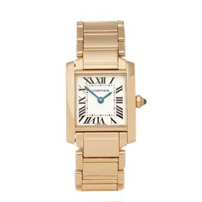 Cartier Tank Francaise 18K Yellow Gold - 2385