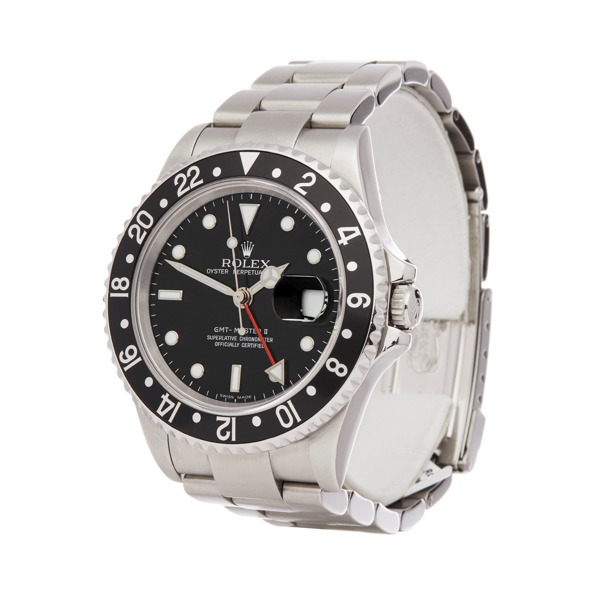Rolex GMT-Master II Rectangular Dial Stainless Steel 16710