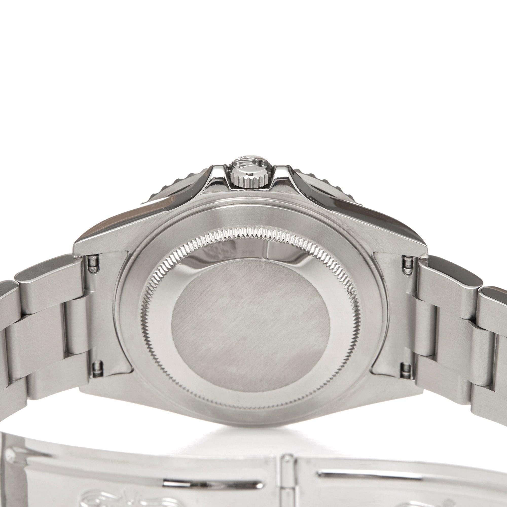 Rolex GMT-Master II Rectangular Dial Coke Roestvrij Staal 16710