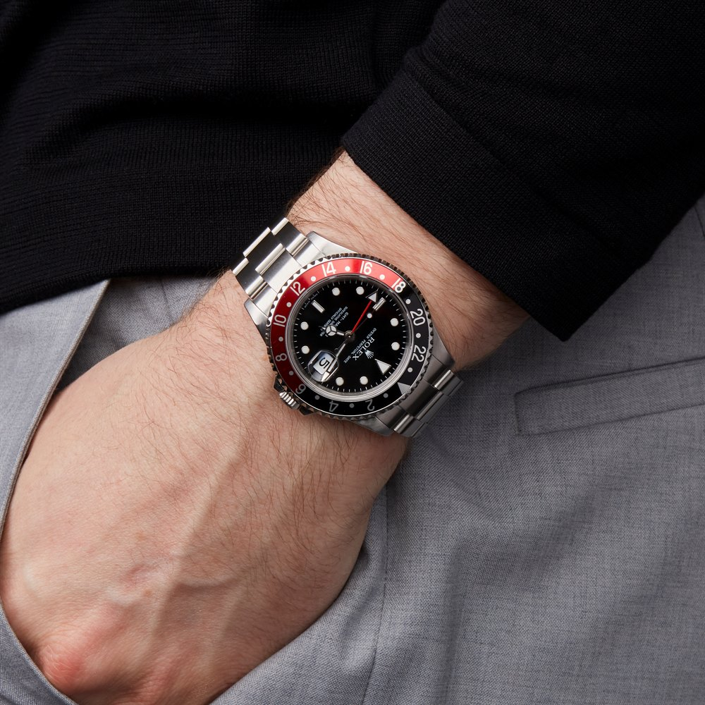 Rolex GMT-Master II Rectangular Dial Coke Stainless Steel 16710