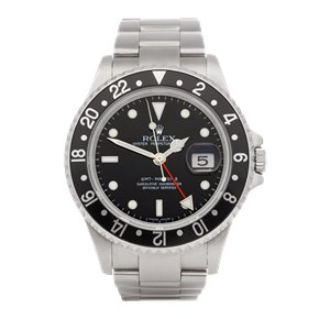 Rolex GMT-Master II Rectangular Dial Stainless Steel - 16710