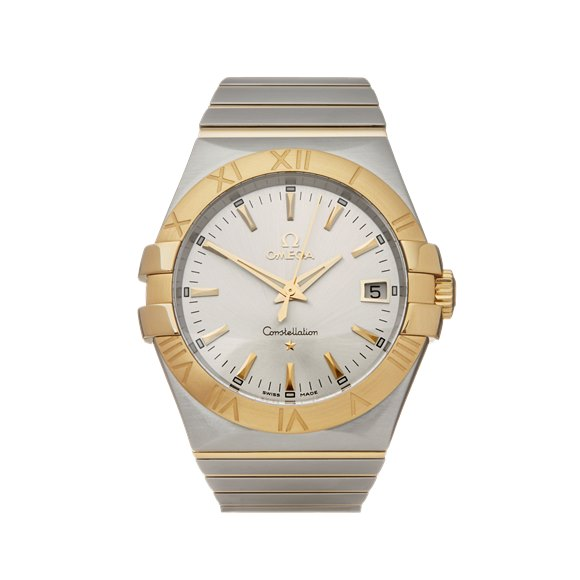 Omega Constellation Stainless Steel & Yellow Gold - 123.20.35.60.02.002