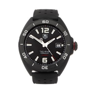 Tag Heuer Formula 1 Black Dlc Coated Stainless Steel - WAZ2115
