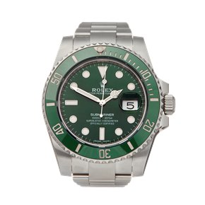 Rolex Submariner Hulk Stainless Steel - 116610LV