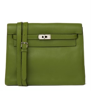 Hermès Vert Pelouse Swift Leather Kelly Danse