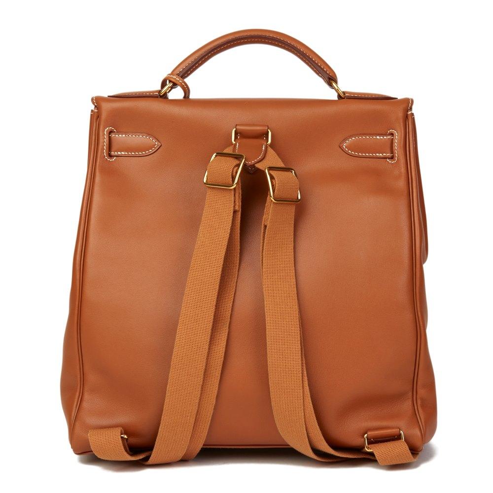 Hermes Kelly Ado Backpack 1999 Hb2689 Second Hand Handbags Xupes