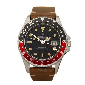 Rolex GMT-Master II MKII Fat Lady Coke 40mm Stainless Steel - 16760