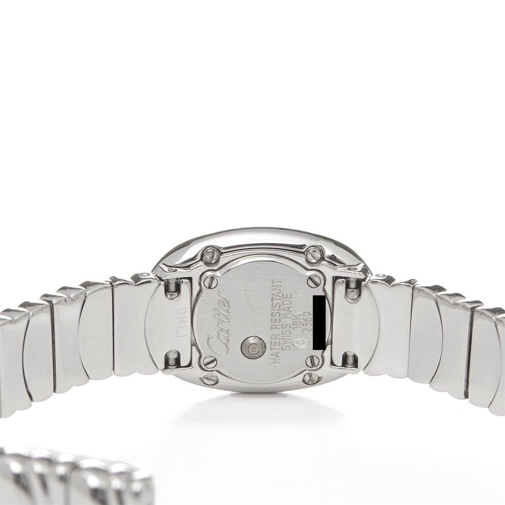 Cartier Baignoire Mini 18K Wit Goud W15189L2 or 2369