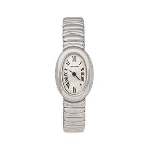Cartier Baignoire Mini 18K White Gold - W15189L2 or 2369