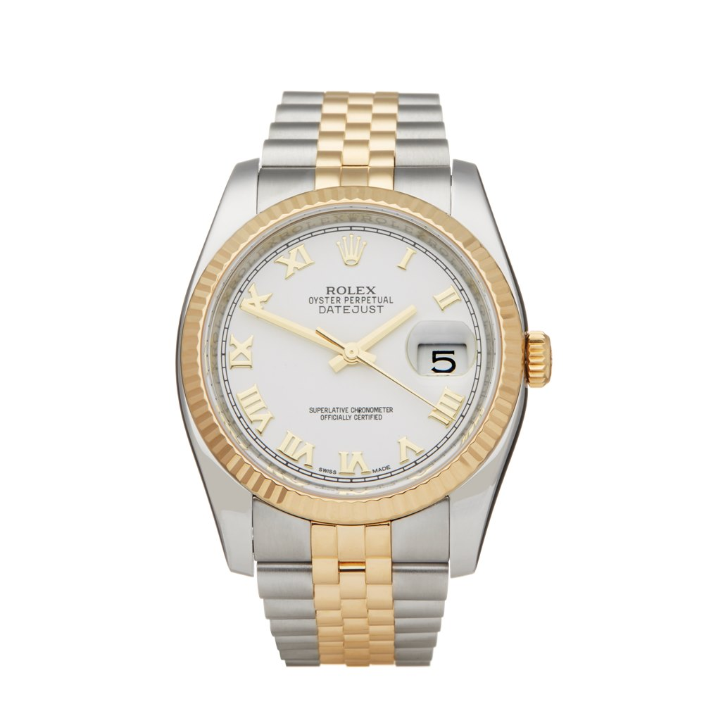 Rolex DateJust 36 Stainless Steel & Yellow Gold G524258