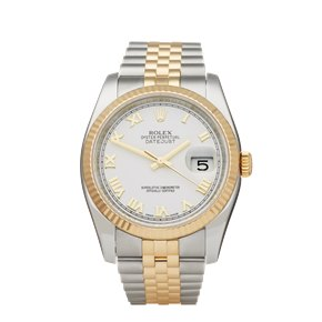 Rolex DateJust 36 Stainless Steel & Yellow Gold - G524258