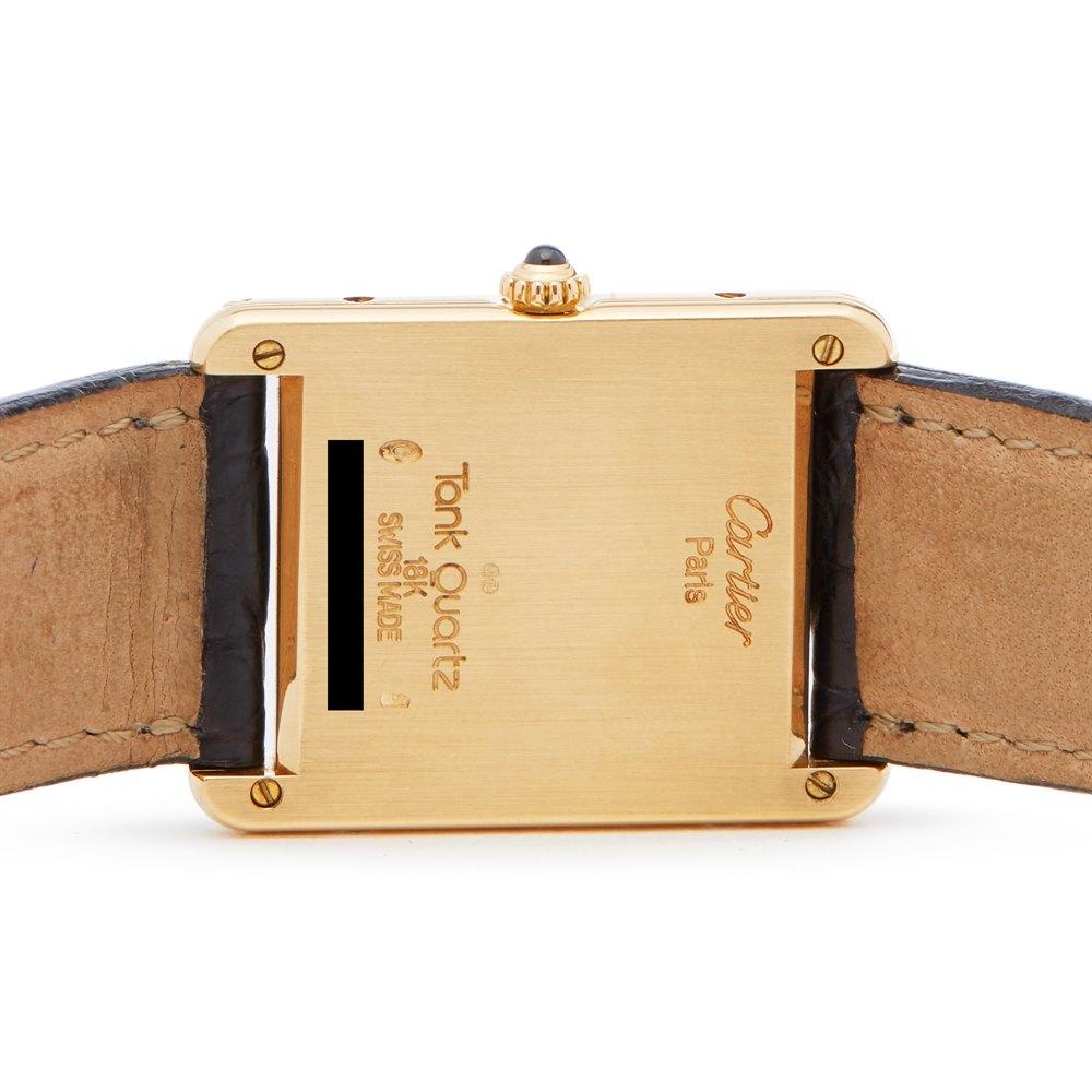 Cartier Tank Louis Cartier Paris 18k Yellow Gold 8810