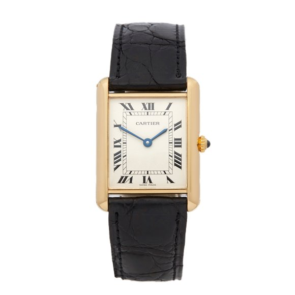 Cartier Tank Louis Cartier Paris 18k Yellow Gold - 8810