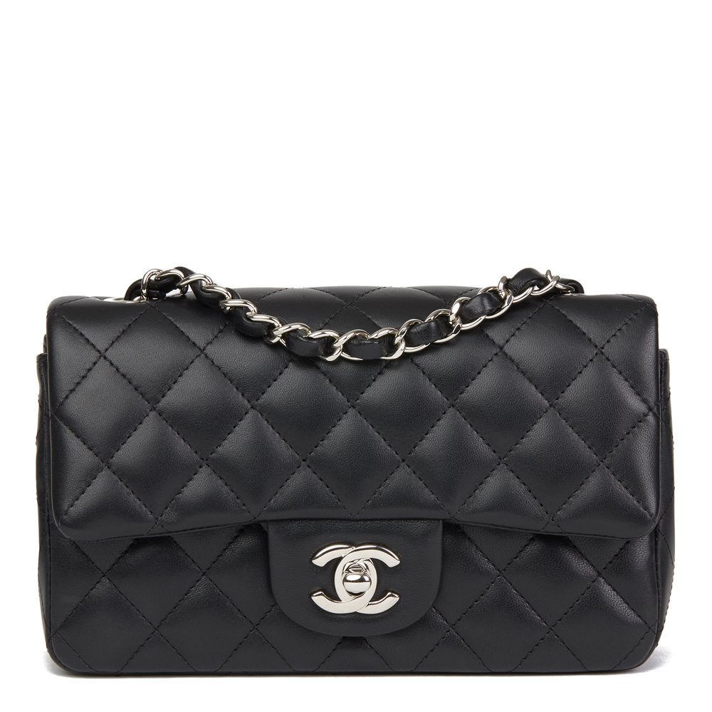 665b046b591927 Chanel Rectangular Mini Flap Bag 2019 HB2694 | Second Hand Handbags