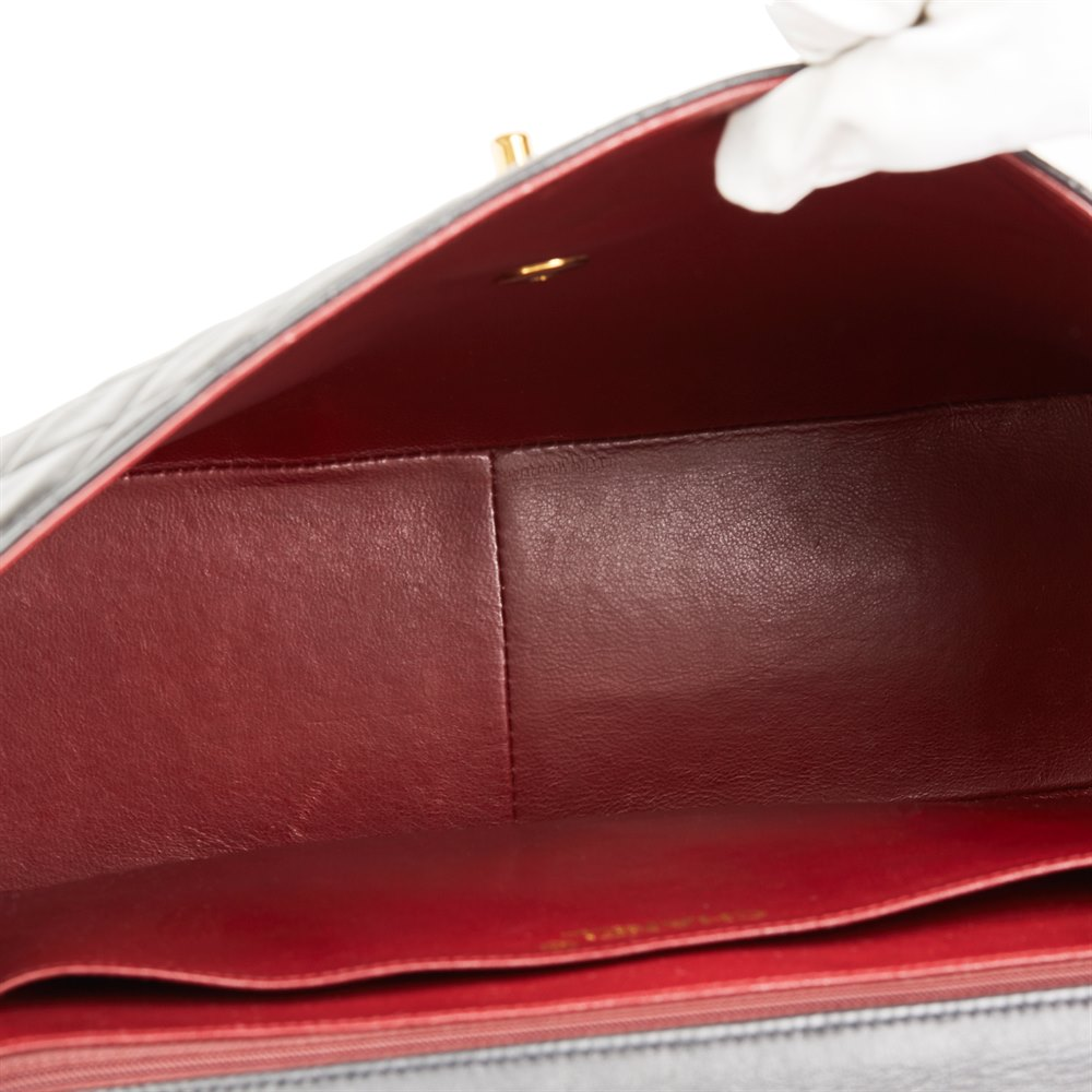 93a8b9b36701 Chanel Maxi Jumbo XL Flap Bag 1994 HB2705   Second Hand Handbags