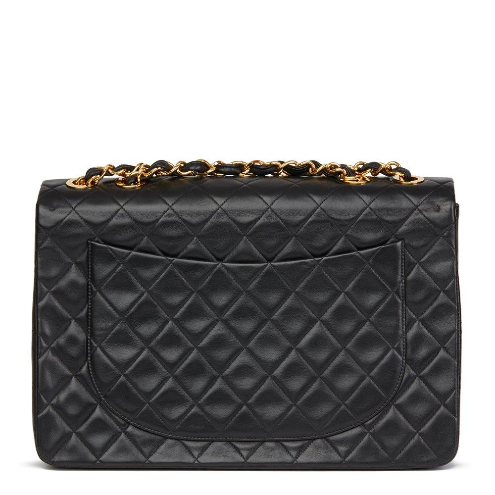 347ac0cbb0512e Chanel Maxi Jumbo XL Flap Bag 1991 HB2706 | Second Hand Handbags