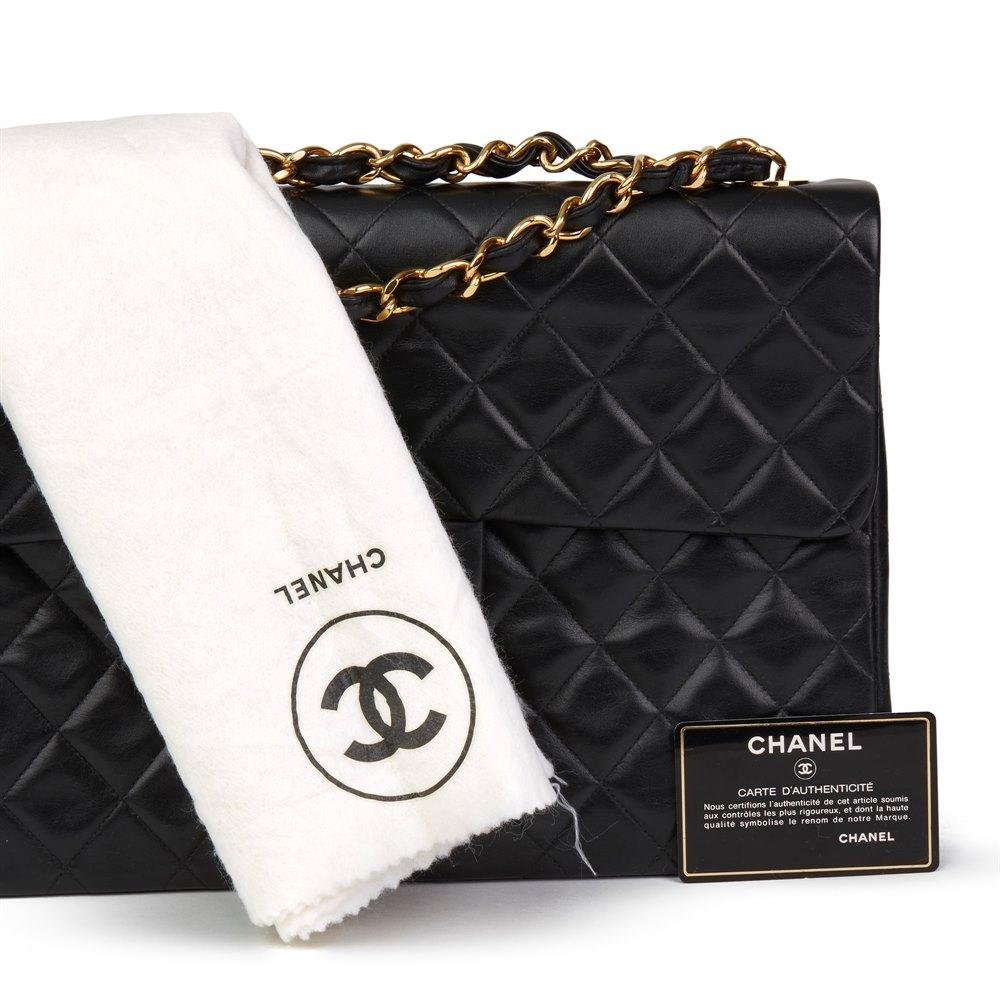 acac9adb7e3c Chanel Maxi Jumbo XL Flap Bag 1991 HB2706 | Second Hand Handbags