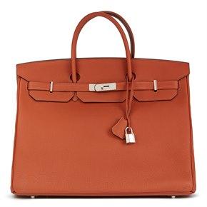 Hermès Cuivre Togo Leather Birkin 40cm