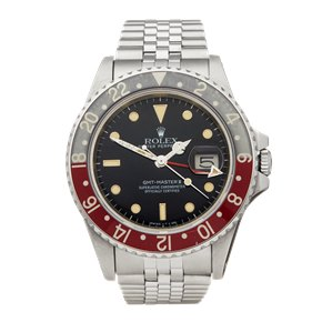 Rolex GMT-Master II Pepsi Fat Lady MK1 Stainless Steel - 16760