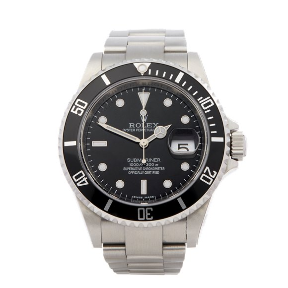 Rolex Submariner Date NOS Stainless Steel - 16610