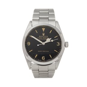 Rolex Explorer I Double Stamped T<25 Super Precision Stainless Steel - 5500