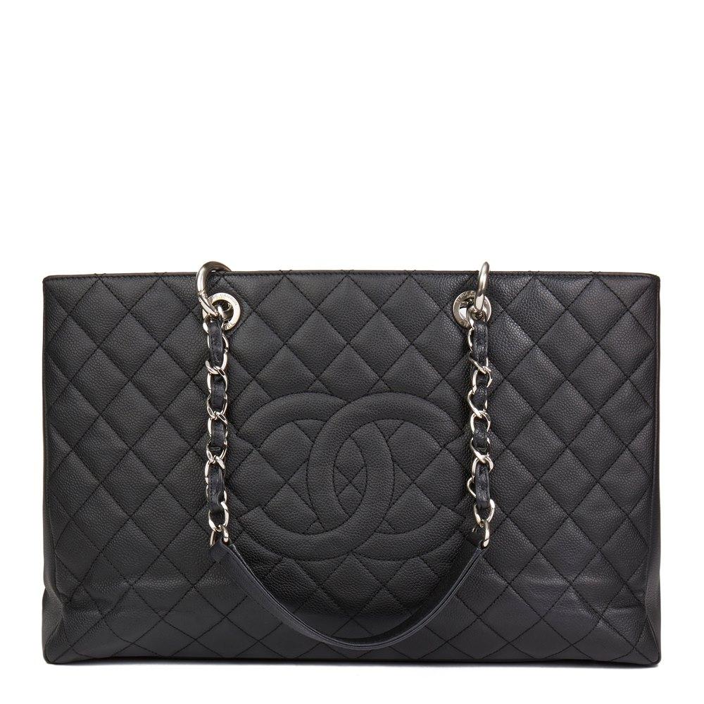 59d77d90c60332 Chanel Grand Shopping Tote XL 2013 HB2513 | Second Hand Handbags