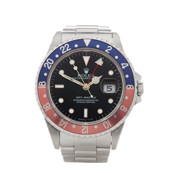 Rolex GMT-Master Pepsi Stainless Steel - 16700