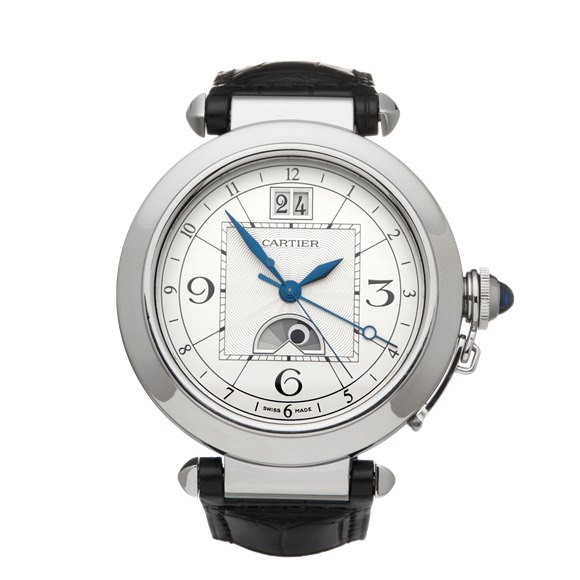 Cartier Pasha de Cartier Big Date Moonphase XL Stainless Steel - W31093 or 2938