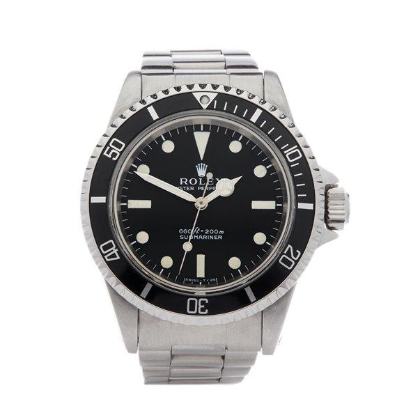 Rolex Submariner Non Date Stainless Steel - 5513