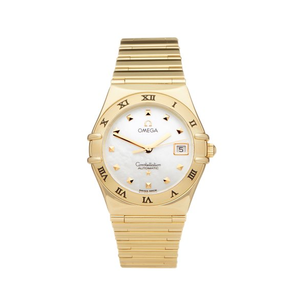 Omega Constellation My Choice Mother of Pearl 18k Yellow Gold - 11917.1