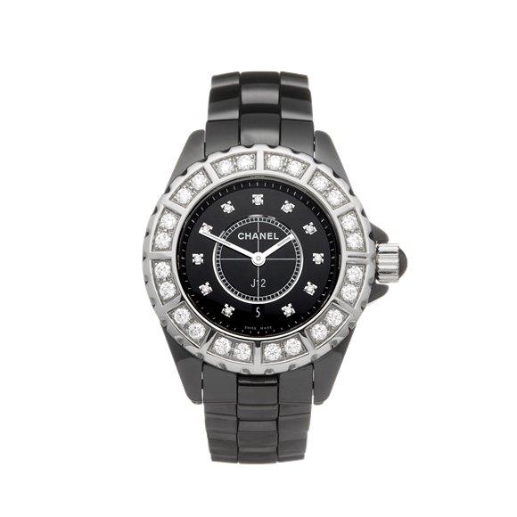 Chanel J12 Diamond Ceramic - H2427