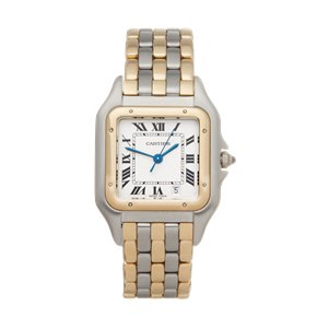 Cartier Panthère 3 Row Stainless Steel & Yellow Gold - 8394