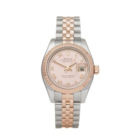 Rolex Datejust 26 Stainless Steel & 18K Rose Gold - 179171