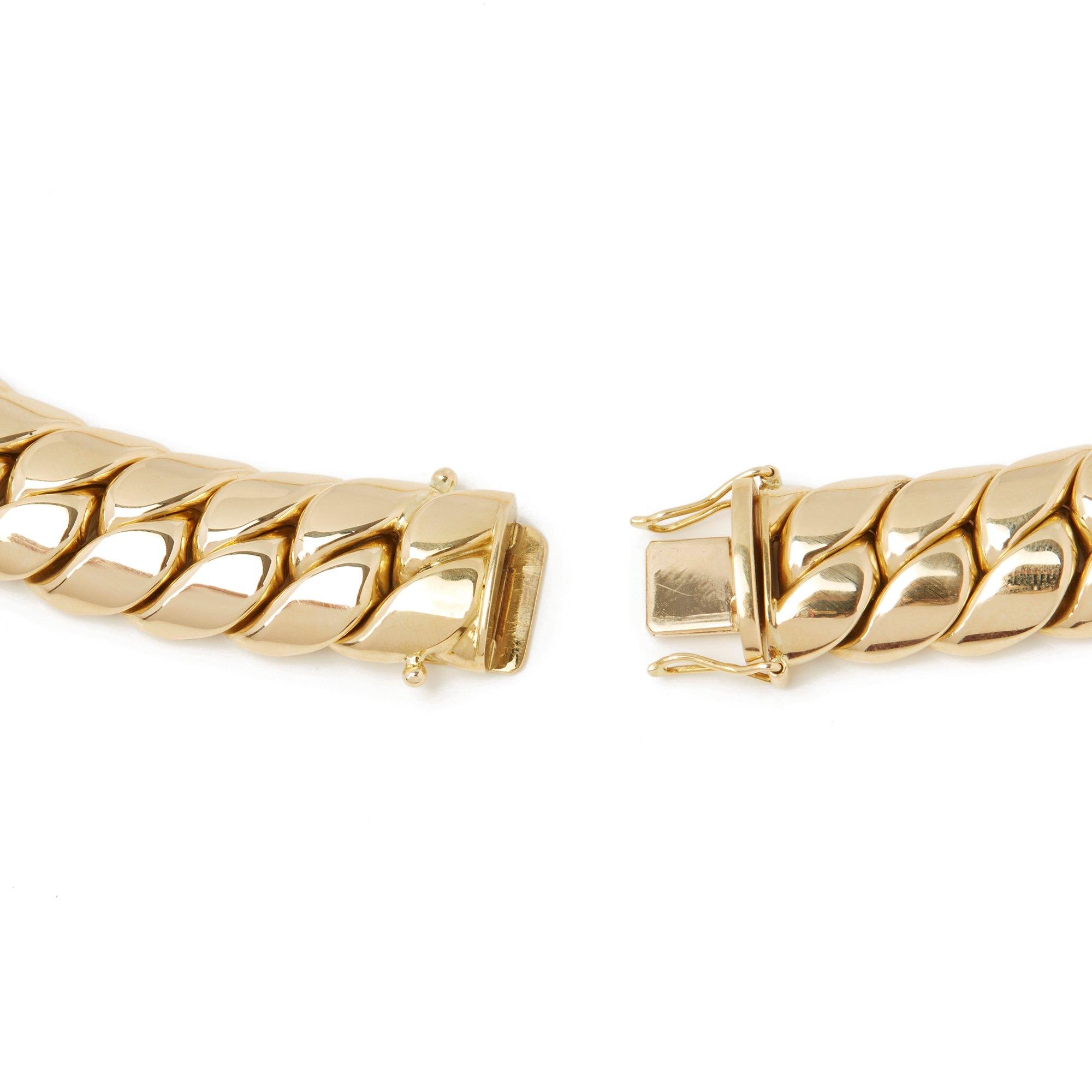 Chopard 18k Yellow Gold Happy Diamonds Necklace