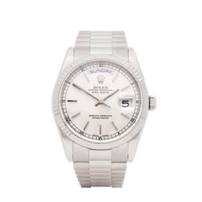 Rolex Day-Date 36 Diamond White Gold - 118239