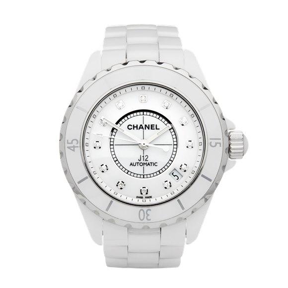 Chanel J12 Diamond Ceramic - H1629