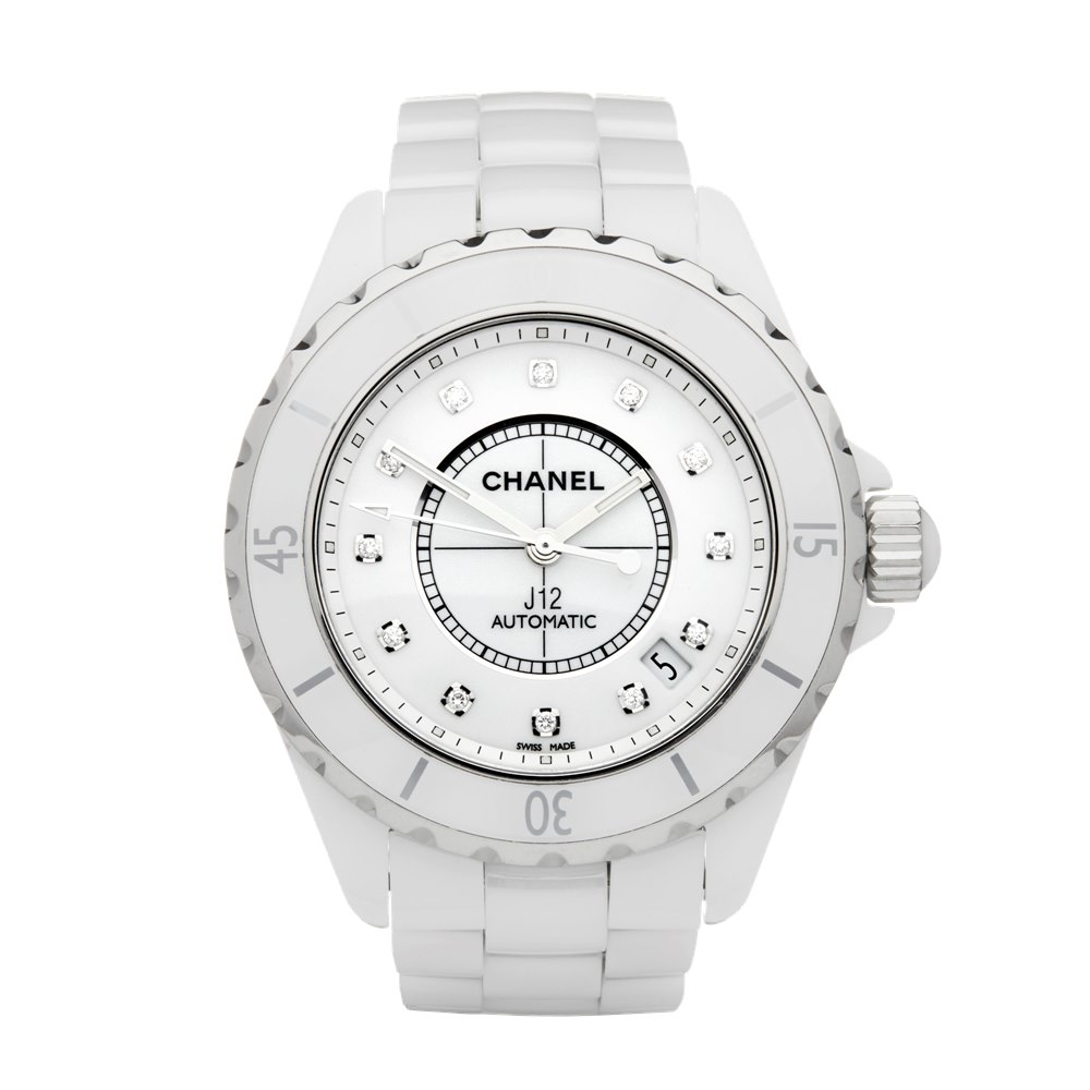 Chanel J12 Diamond Ceramic H1629