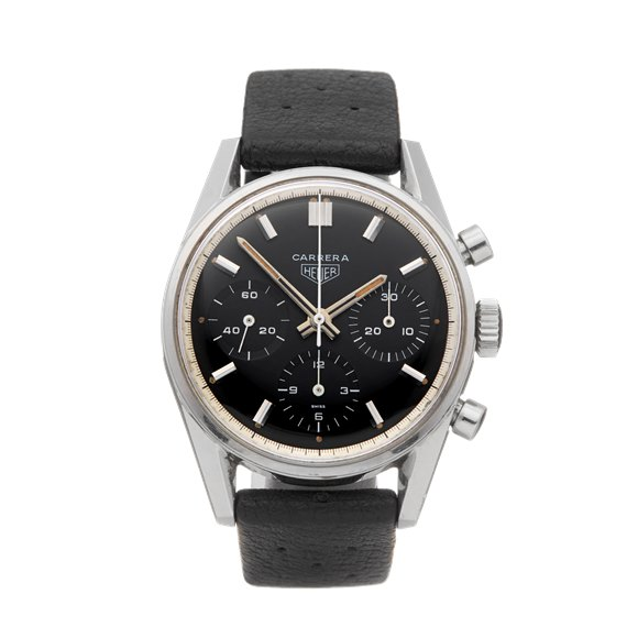 Heuer Carrera Chronograph Stainless Steel - 2447