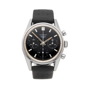 Heuer Carrera Chronograph Stainless Steel - 2447
